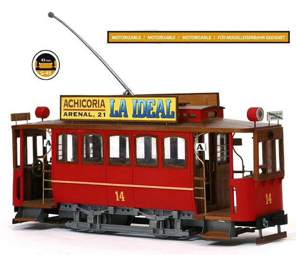 Tramway de Madrid Occre 53002